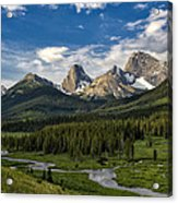 This Is Alberta No.27 - Spray Valley Peaks Acrylic Print