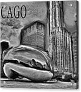 This Is Chicago Acrylic Print