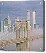 This Is The Brooklyn Bridge Acrylic Print