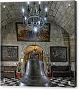 This Is The Philippines No.89 - San Agustin Church Bell Acrylic Print by Paul W Sharpe Aka Wizard of Wonders