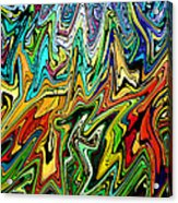 This Is Your Brain Acrylic Print by James Hammen