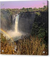 This Is Zimbabwe No.  1 - Thundering Victoria Falls Acrylic Print