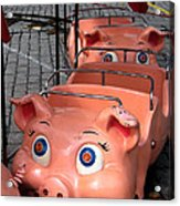 This Little Piggy Went To Market Acrylic Print