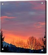 This Magic Hour Acrylic Print