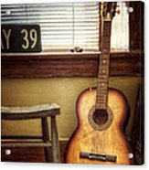 This Old Guitar Acrylic Print