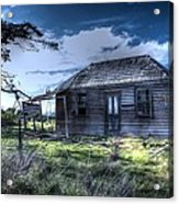 This Old House .......... Acrylic Print by Ian  Ramsay
