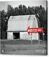 This Way To Mexico Acrylic Print