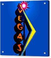 This Way To Vegas Acrylic Print
