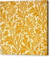 Thistle Wallpaper Design, Late 19th Acrylic Print