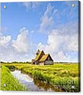 Thomas A Becket Church Romney Marsh Acrylic Print by Colin and Linda McKie