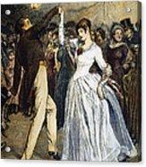 Thomas Hardy, 1886 Acrylic Print by Granger