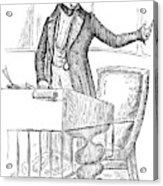 Thomas Hart Benton (1782-1858) Acrylic Print