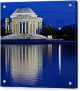 Thomas Jefferson Memorial Acrylic Print by Andrew Pacheco