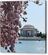 Thomas Jefferson Memorial Acrylic Print