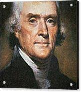 Thomas Jefferson Acrylic Print