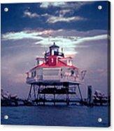 Thomas Pt.  Shoal Lighthouse Acrylic Print