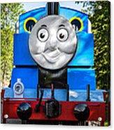 Thomas The Train Acrylic Print
