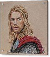 Thor Acrylic Print