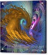 Thor Legacy - Square Version Acrylic Print