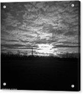 Thornton Sunset With A Holga Acrylic Print