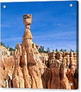 Thors Hammer, Bryce Canyon Acrylic Print