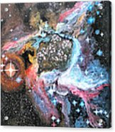 Thor's Helmet Nebula Acrylic Print