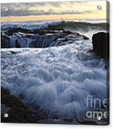 Thors Well 2 Acrylic Print by Bob Christopher