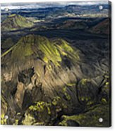 Thorsmork Valley In Iceland Acrylic Print