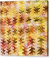 Those Autumn Leaves Acrylic Print