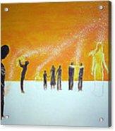 Those Who Left Early Acrylic Print by Lazaro Hurtado