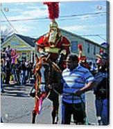 Thoth Parade Rider Acrylic Print