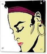 Thoughtful Woman 2 Acrylic Print