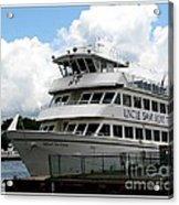 Thousand Islands Saint Lawrence Seaway Uncle Sam Boat Tours Acrylic Print