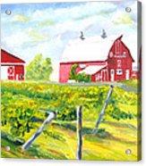 Thousand Islands Winery-september Acrylic Print