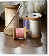 Thread And Mending Acrylic Print