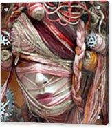 Thread Or Alive Acrylic Print by Jez C Self