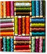 Thread Reels Acrylic Print