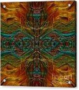 Threaded Symmetry Acrylic Print