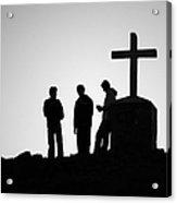 Three At The Cross Acrylic Print