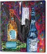 Three Beers Acrylic Print by William Killen