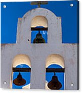 Three Bells In The Afternoon Acrylic Print