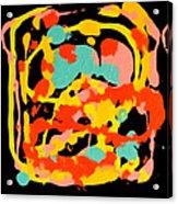 Three Carnival Acrylic Print