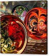 Three Colored Balls Acrylic Print