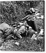 Three Dead U.s. Airborne Troops Acrylic Print