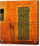 Three Doors In Provence Acrylic Print