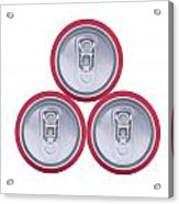 Three Drink Cans Acrylic Print