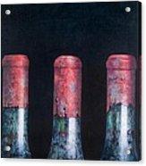 Three Dusty Clarets Acrylic Print