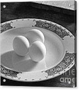 Three Eggs 2 Acrylic Print