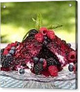 Three Kinds Of Berries Acrylic Print