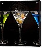 Three Martinis Acrylic Print
